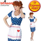 CA545 Sassy Lucy I Love Lucy 50s Housewife Womens TV Licensed Costume + Wig