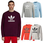 Adidas Originals Trefoil Fleece Men's Sweatshirt Pullover Crewneck Crew Sweat