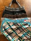 Thirty One Fitted Purse Skirt Covers U Choose Paisley Brown Corduroy Sea Plaid