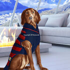 Chilly Dog Sweater Cable Knit Navy Red Stripes XXS - XXXL [2-120 lbs] 2018