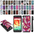 "For Alcatel A50 Pulsemix Crave 5085 5.2"" Hybrid Duty Kickstand Case Cover + Pen"