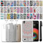For LG X Power LS755 US610 K450 K210 Sparkling Silver Silicone Case Cover + Pen