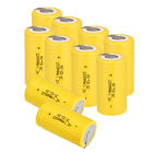 Hot New Yellow Ni-Cd SubC Sub C 1.2V 2200mAh Rechargeable Battery with Tab
