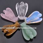 Guardian Angel Wings Figurine Statute Luckly Stone Crystal Healing Chakra Reiki