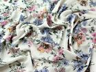 Floral Print Viscose Challis Dress Fabric (LX-C14906-M)