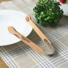 Tougei Japan Meow Catch Cat Paw Natural Wooden Kitchen Tongs (1 piece)
