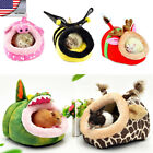 US HQ Small Dog Bed Pet Hamster Rat Guinea Soft Warm Doggy House kitten Nest Pad