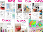 Sew & Make Burda SEWING PATTERNS - Crafts Toys Christmas Pets Home Decor Pillows