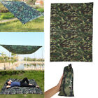 Portable Lightweight Camping Tent Tarp Shelter Pad Cover Rainproof Hiking Camo