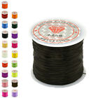 50M Strong Stretch Elastic Cord Wire rope Bracelet Necklace String Bead 0.5mm HF