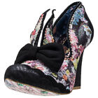 Irregular Choice Oh Mama Womens Shoes Black Multicolour New Shoes