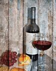 Rustic Kitchen  Dinning Room Wall Decor, Wine Grapes Home Decor Wall Picture