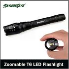 Zoomable 20000LM 5-Mode T6 LED Flashlight Lamp Light Torch 18650Battery+Charge!