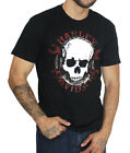 Harley-Davidson Mens Gritty Skull with Wrenches Black Short Sleeve Biker T-Shirt $14.99 USD