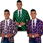 National Jacket & Tie Mens Fancy Dress British Irish Adults Costume Accessories