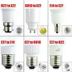 GU10 E27 E14 B22 Bulb Adapter Lamp Extender Socket Converter Shop Light Holder