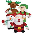 Christmas Santa Snowman Reindeer or Elf friends singer voice chip dog toy toys