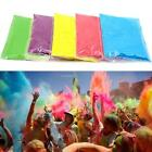 New Celebrate Festival Party Colored Rainbow Corn Flour Running Throw B20E