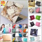 "2in1 Silk Glitter Shiny/ Marble Matte Hard Case for MacBook AIR 13"" 13.3"" A1466"
