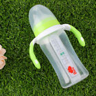 Baby Infant PP Handle Temperature Test Feeding Bottle Milk Water Feeder 260ML