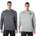 Nike Sportswear Men's Long Sleeve Crewneck Fleece Sweatshirt Reflect