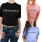 Fashion friends Women T Shirt Short Sleeve Summer Tops Casual Tee Crewneck