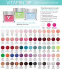 Triple Vitamin Nail Color Soak Off Dipping Dip Powder 2oz/56g ~YOU PICK~