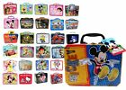 Children's Metal Tin Lunch Box Carry All Storage Gift Bag Case Party Favor NEW