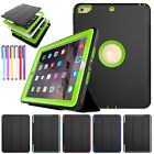 Shockproof Smart Cover Heavy Duty Stand Hard Case For iPad 5th Gen/Pro 10.5/Mini