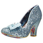 Irregular Choice Nick Of Time Womens Pastel Blue Synthetic Shoes