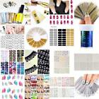 Nail Art Design Water Transfer Nails Sticker Colorful Nails Wraps Decals B20E