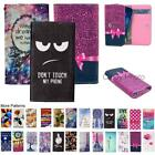 For Celkon UniQ Wallet Bag Flip Case Cover Wings Tower Insect Leopard Fashion