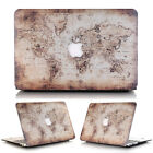 World Map Anti-Shock Matte Hard Shell Protective Skin  for MacBook AIR 13.3-inch