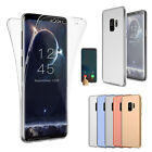 For Samsung Galaxy S9 S9 Plus Ultra Thin 360 Full Body Cover Clear Soft TPU Case