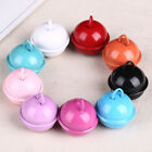 Wholesale 10~30pcs 22mm Round Lacquer iron Metal Bells Dangle Charms Findings