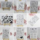 Внешний вид - Transparent Clear Silicone Rubber Stamp Cling DIY Diary Scrapbooking Card Decor