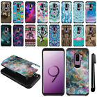 "For Samsung Galaxy S9 Plus/ S9+ 6.2"" Hybrid Bumper Protective Case Cover + Pen"