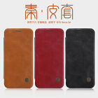 Genuine Nillkin Qin Business PU Leather Flip Case Card Cover For Huawei P20 Lite