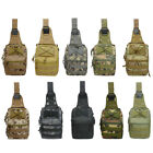 Men Waterproof Chest Bag Outdoor Travel Riding Climbing Tactical Shoulder Bags