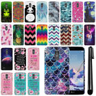 For LG Stylo 3 Plus/ Stylo 3/ Stylus 3 Slim HARD Back Case Phone Cover + Pen