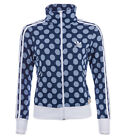 ADIDAS ORIGINALS FIREBIRD TRACK TOP JACKE DAMEN TRAININGSJACKE BLAU WEISS PUNKTE