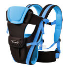Newborn Baby Carrier Sling Wrap Backpack Front Back Chest Ergonomic 2-24M Baby