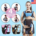 Внешний вид - Newborn Baby Carrier Sling Wrap Backpack Front Back Chest Ergonomic 4 Position