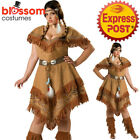 CA691 InCharacter Deluxe Native Indian Beauty Womens Costume Wild West Plus Size
