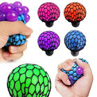 Stress Relief Ball Coloured Squidgy Squeezy Squishy Yuch Mesh Squeeze Gift Party