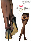 Gio Fully Fashioned Stockings - SUSAN Heel - imperfects