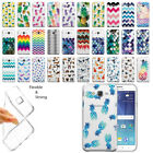 For Samsung Galaxy J7 J700 Pineapple Clear Soft Gel TPU Case Cover
