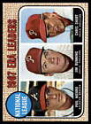 1968 Topps Baseball # 3-91 - Pick Your Card - All Cards Scanned Front