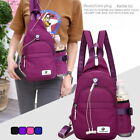 Womens Fashion Outdoor Chest Backpack Waterproof Sports Bag Travel Bag Casual