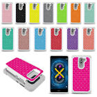 For Huawei Honor 6X Mate 9 Lite 5.5 inch Colorful Sparkle HYBRID Case Cover